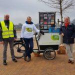 Wandelen voor Water Nijmegen - Green Capital Challenge kar -Rivierpark - foto Sandra Cools